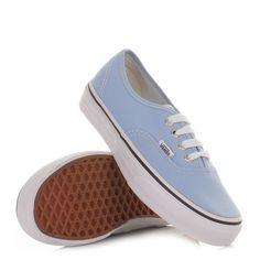 Vans Authentic Shoes - Placid Blue True White.  #PinningforPrizes #PantoneSpring2014