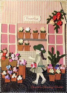 Churi Chuly Shop: Chuly's Flower Shop [ร้านดอกไม้ของน้องชูลี่]