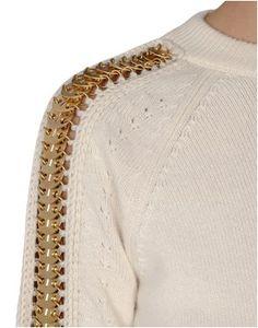 Looks like a zipper? Interesting and unique idea.