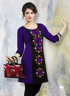 Buy Sarees Salwar Suits Lehengas Gowns Kurtis Tops online from India at best prices. Western Dresses, Western Outfits, Indian Dresses, Designer Wear, Designer Dresses, Designer Kurtis, Kurtis Tops, Silk Kurti, Party Wear Kurtis