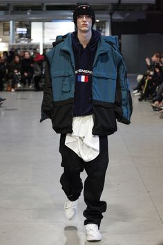 Vetements Fall 2017 Ready-to-Wear Fashion Show - Vetements Fall 2017 Ready-to-Wear Fashion Show Vetements Fall 2017 Ready-to-Wear Collection Photos – Vogue Fashion Week, High Fashion, Fashion Show, Fashion Design, Fashion Trends, Fashion Black, Paris Fashion, Fashion Ideas, Demna Gvasalia Vetements