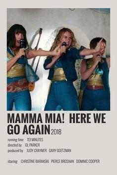 Alternative Minimalist Movie/Show Polaroid Poster - Mamma Mia 2 - illustrations Iconic Movie Posters, Minimal Movie Posters, Iconic Movies, Film Polaroid, Polaroids, Poster Minimalista, Film Poster Design, Movies And Series, Movie Prints