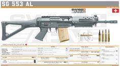 Airsoft Guns, Weapons Guns, Guns And Ammo, Tactical Rifles, Firearms, Armas Sig Sauer, Light Machine Gun, Submachine Gun, Custom Guns