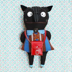 Katzenmädchen - juime - Handgefertigte Unikate von Manuela Olten