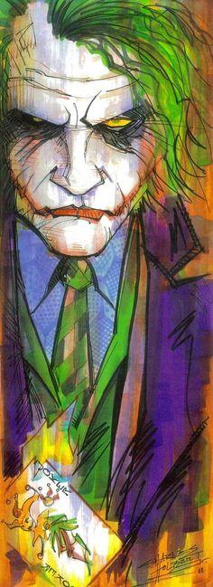 The Joker by Charles Holbert Jr. The Joker by Charles Holbert Jr. The Joker, Joker Art, Joker Batman, Joker Comic, Joker Heath, Gotham Batman, Batman Art, Batman Robin, Batgirl
