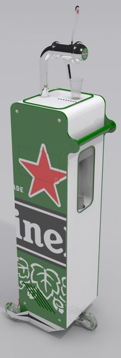 HEINEKEN HIGH MILE DRINKING by Bertrand Fougerat Pitt Withbeck-Park at Coroflot.com