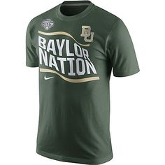 Nike #Baylor University Bears Football Baylor Nation Cotton Bowl T-Shirt // #SicEm