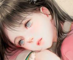 learning how to draw Manga Kawaii, Kawaii Anime Girl, Anime Art Girl, Beautiful Fantasy Art, Beautiful Anime Girl, Pretty Art, Cute Art, Anime Eyes, Manga Anime