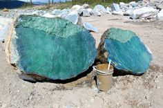 The Giant Nephrite Jade Road In Canada | Geology IN
