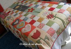 EL TELAR DE MI ABUELA: colcha patchwork
