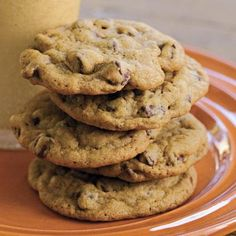 All-Time Favorite Chocolate Chip Cookies | SouthernLiving.com - try with chunks of ghiradelli choc and a sprinkle of sea salt on top