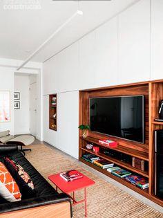 Des grandes idées pour un petit espace contemporain et fonctionnel au Brésil