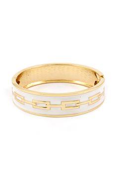 Henley Bracelet in White Wash