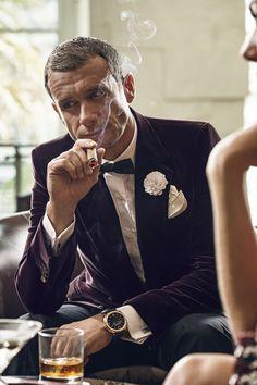 gentlemen's club – officine panerai on Behance