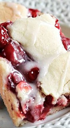 Sweet Cherry Pie Bars