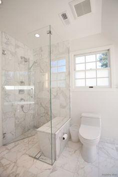 Curbless Shower Ideas that Pretty Awesome 0008 Basement Bathroom, Small Bathroom, Master Bathroom, Bathroom Showers, Bathroom Ideas, Bathroom Renovations, Bad Inspiration, Bathroom Inspiration, Douche Design