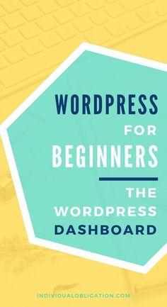 Wordpress for beginners Wordpress For Beginners, Learn Wordpress, Wordpress Admin, Wordpress Plugins, Blogging For Beginners, Wordpress Guide, Wordpress Support, Wordpress Website Design, Web Design Tips