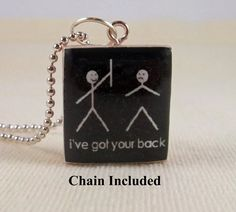 Scrabble Tile Jewelry  Funny I've Got Your by MaDGreenCreations, $6.95
