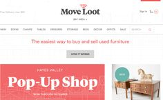 Currently operating in the Bay Area and Raleigh-Durham (with plans to expand), Move Loot is a startup that serves as a used furniture warehouse and marketplace. To set themselves apart for buyers, Move Loot actually picks up the items that are approved for sale and holds them until they sell at a warehouse for up to 60 days. After that, sellers can either pay to have the item returned or donate to a local charity. Items are reduced 40% after 30 days and buyers have the option of offering a…