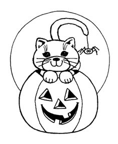 Scary Halloween Coloring Page