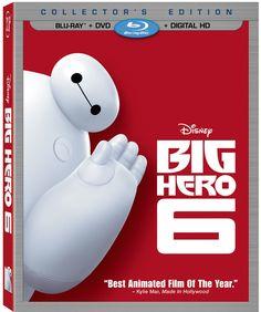 Disney's BIG HERO 6 available on Digital HD February 3rd and Blu-ray Combo Pack February 24th Hero 6 Movie, Movie Tv, Movie Club, Kid Movies, Family Movies, Watch Movies, Baymax, Big Hero 6 2, Big Hero 6