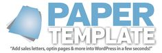 Paper Template Review – Perfect WordPress sales letter plugin that makes every copywriting course obsolete and puts every web designer out of business   JVZOO WSO Software Review
