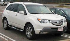 The Acura Mdx Or Honda In An And Australia Known As A Mid Size Luxury Crossover Suv 2001 Model Year Produced By Anese Automaker