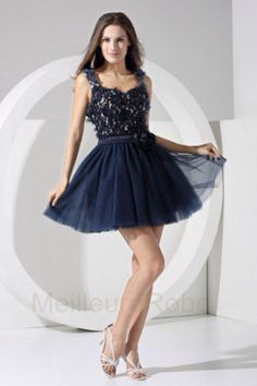 1516f27559 I am bringing along yet another new and elegant post of navy blue  homecoming dresses with straps