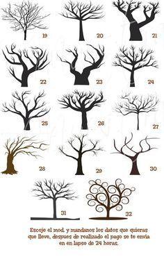 Malvorlage Baum Ohne Blätter Malen Pinterest Baum