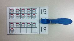 Christmas Time Ten Frames Math Centers (Quantities of 0 to 20)  $  http://www.teacherspayteachers.com/Product/Christmas-Time-Ten-Frames-Math-Centers-Quantities-of-0-to-20-986019