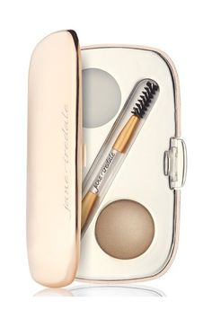 Jane Iredale Brow Kit- Wrong! Every face is different, and your face isn't symmetrical, so a stencil that was made for a cookie-cutter structure won't suit. Each brow should be customized to each individual.