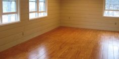 Share Tweet Pin Mail The flooring in this room believe it or not is made of plywood sheets! Plywood was cut into strips to ...