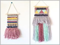 Woven Wall Hangings - Productively Procrastinating Blog