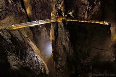 Photo by @shonephoto (Robbie Shone) - The main river passage of Škocjanske jama (cave) in Slovenia is a deep grand canyon like underground gorge that has been carved out over hundreds of thousands of years by the Reka River. The mist that often hangs in the bottom of the cave meant we couldnt see right the way along the passage but at the same time it adds another dimension to the mysterious underground world. This portfolio of photographs that was shot for @NatGeoAdventure from the famous…