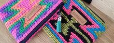 Etui Wallet Pouch Crochet Tapestry