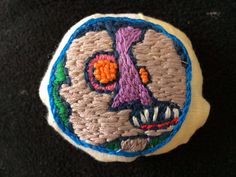 by Maggie Muth--embroidery
