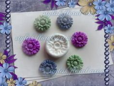 Medium Size flower Mold  https://www.facebook.com/StylishFloralArt