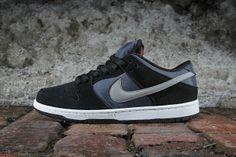 Nike SB Dunk Low Pro Black/New Slate-Reflective Silver