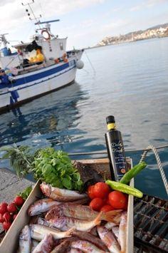 il pesce e olio d'oliva Dulcis in Fundo