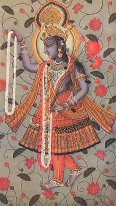 Yami-Yamuna - first woman, goddess of the river Yamuna