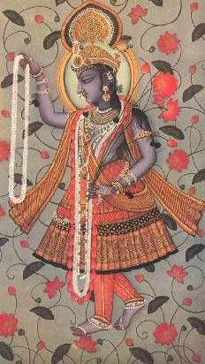 Yami-Yamuna - first woman, goddess of the river Yamuna