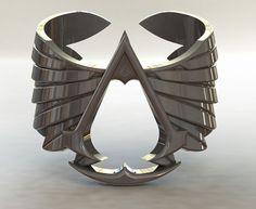 Anillo con el emblema de la Orden de los Asesinos de Assassin's Creed