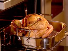 Ina Garten's Roast Turkey with Truffle Butter #Thanksgiving #InaGarten #TruffleButter