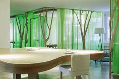 Рабочее пространство филиалов компании My Money Park в Цюрихе и Базеле (Швейцария). Дизайн интерьера — OOS.
