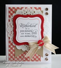 Happy weekend....here is a card I've made for the new C4C193 Challenge...check it out!!!!
