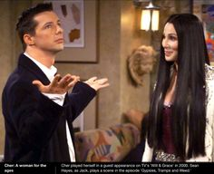 Cher on Will and Grace