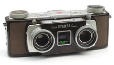 The Kodak Stereo Camera 1954-59) - for taking stereoscopic photos. I need to find one of these.