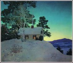 Maxfield Parrish....I highly recommend the Cornish Colony Museum in NH for fans of Maxfield !
