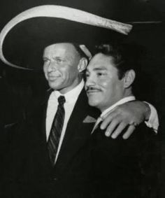 Javier Solis with Frank Sinatra