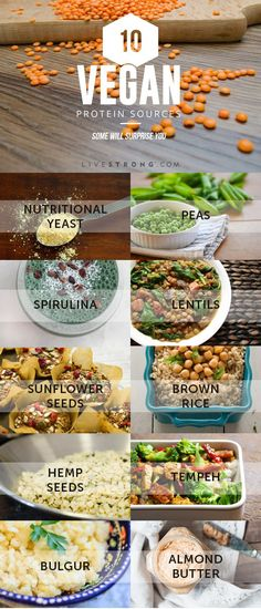 Becoming vegan? Don't miss out on your protein. Here are some high-quality proteins that can be easily incorporated into a tasty and well-balanced vegan diet: http://www.livestrong.com/slideshow/1011669-10-vegan-protein-sources-surprise